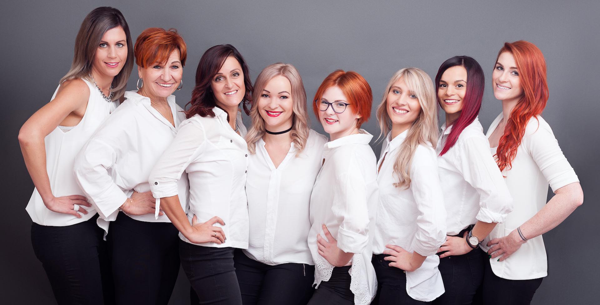 Team-Foto von Sarahs Haar Atelier in Aschbach
